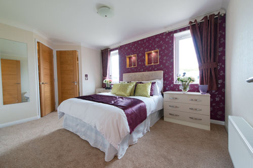 Stately Albion Residential Park Home for sale - The Woburn - Bedroom